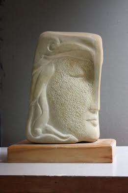 Дарія Альошкіна. Двоє, 2007. Камінь пісковик