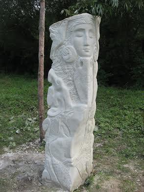 Дарія Альошкіна. Сон, 2007. Камінь пісковик
