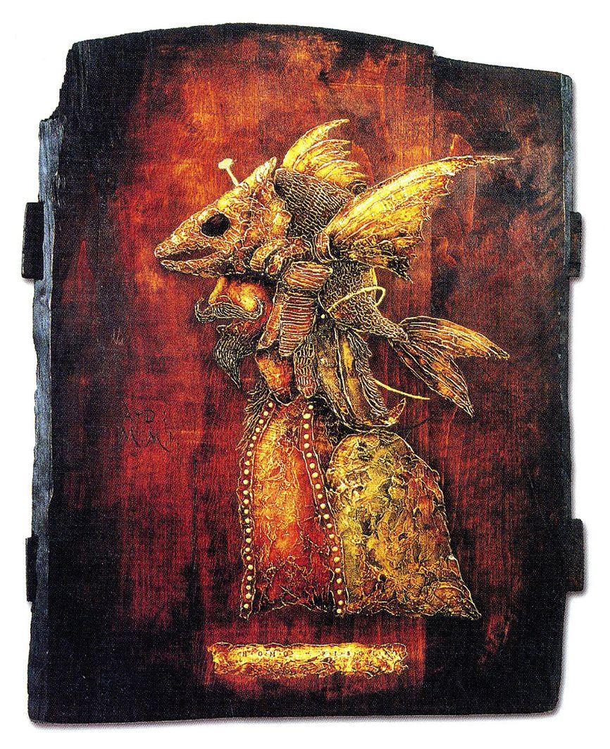 Олег Денисенко. Людина риба, 2000