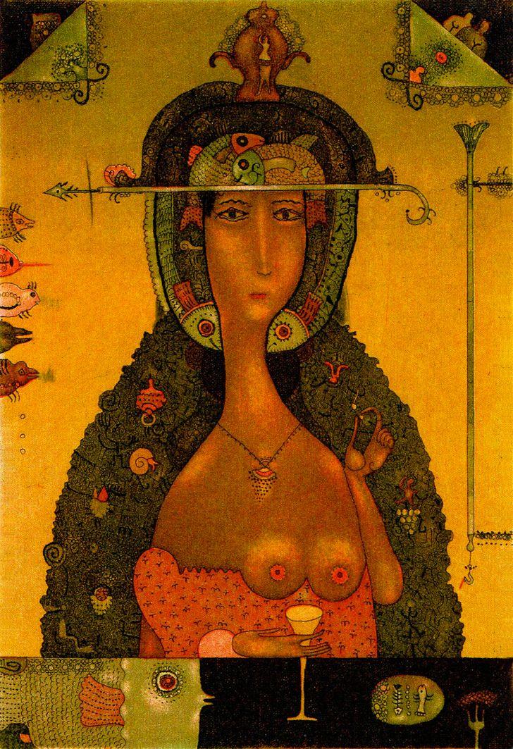 Роман Романишин. Біле вино, 2012. Офорт