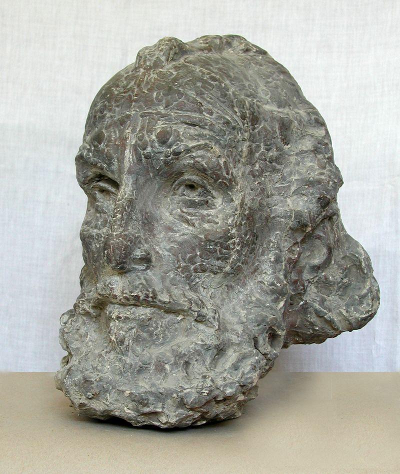 Еммануїл Мисько. В. Бегларян, 1975. Гіпс тонований