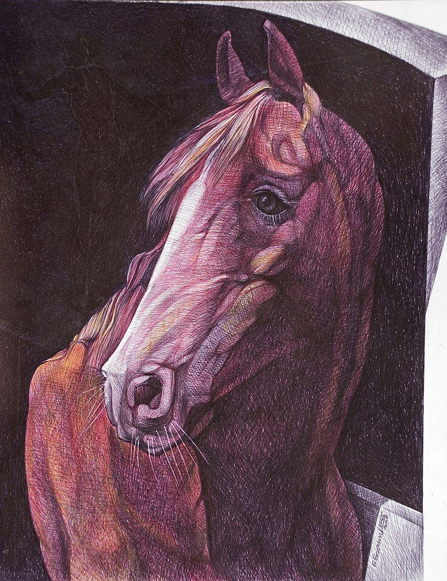 Богдан Васильців. Портрет коня, 2005