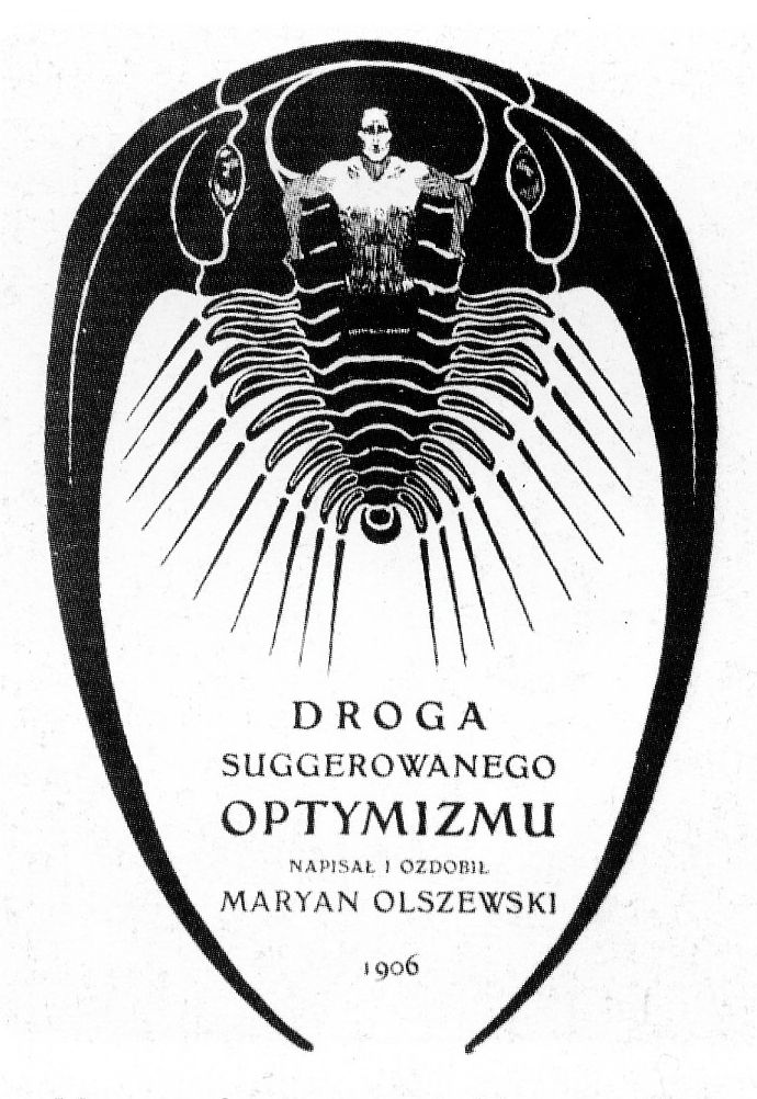 Мар'ян Ольшевський. Титульний аркуш книги, 1906