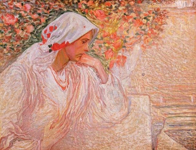 Олекса Новаківський. Моя муза (Портрет дружини)