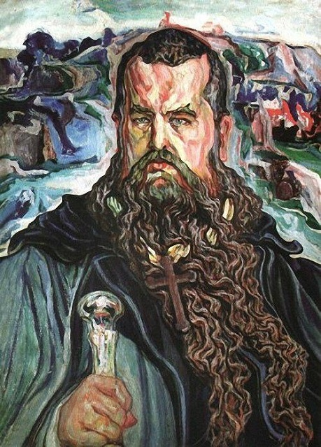 Олекса Новаківський. Мойсей (Портер Андрея Шептицького)