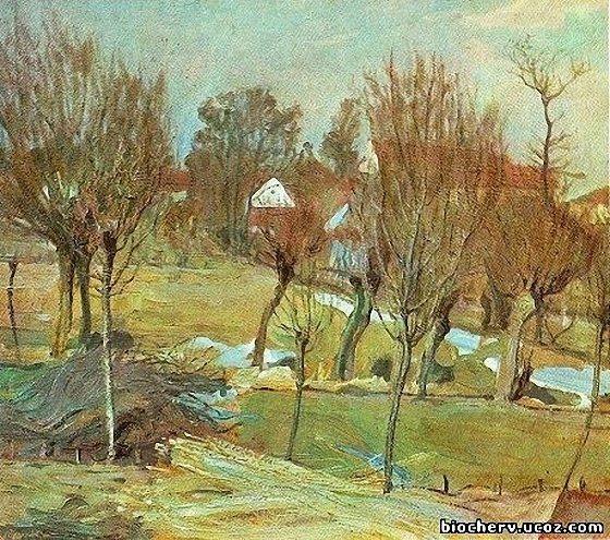 Олекса Новаківський. Рання весна, 1911