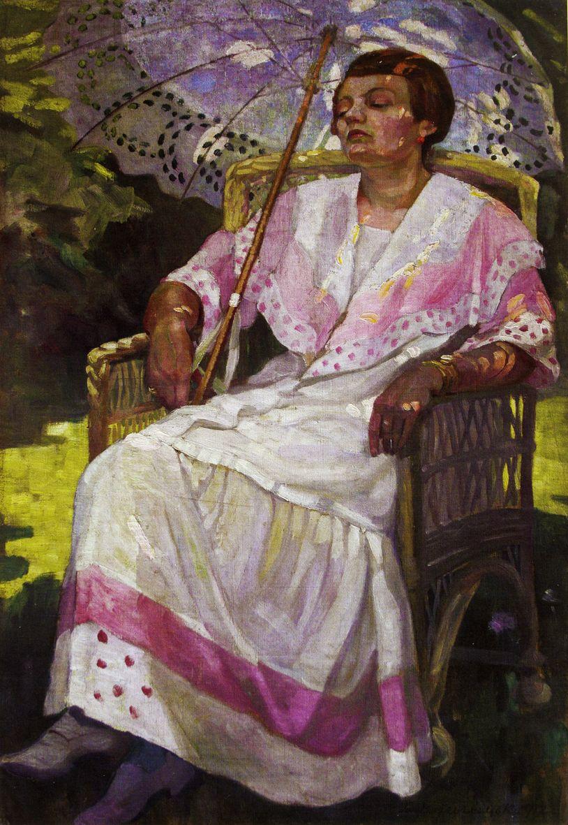 Олена Кульчицька. Літо, 1912