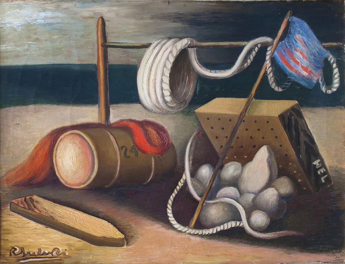 Роман Сельський. На узбережжі Гелю, 1932