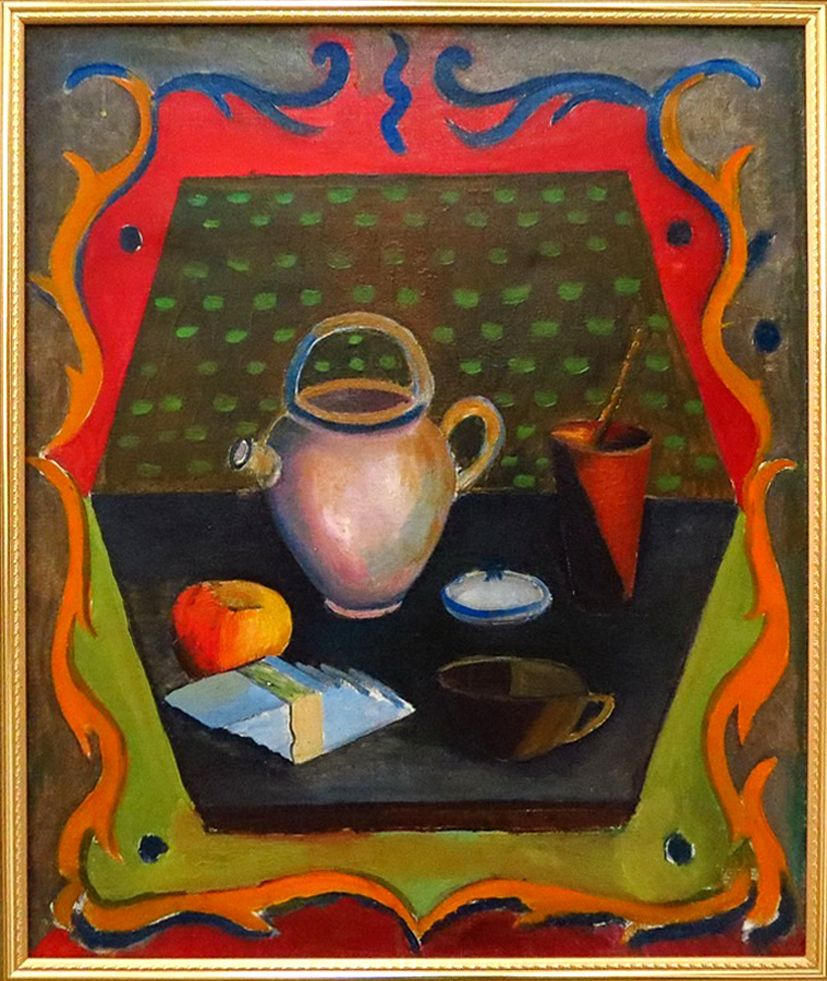 Роман Сельський. Натюрморт, 1926