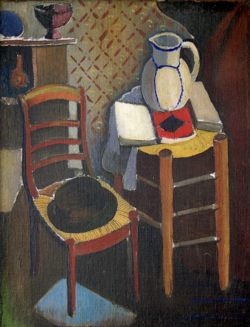 Роман Сельський. Натюрморт з каталогом, 1926