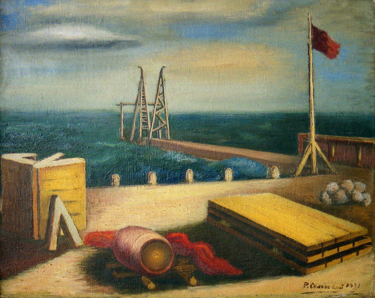 Роман Сельський. Порт, 1931