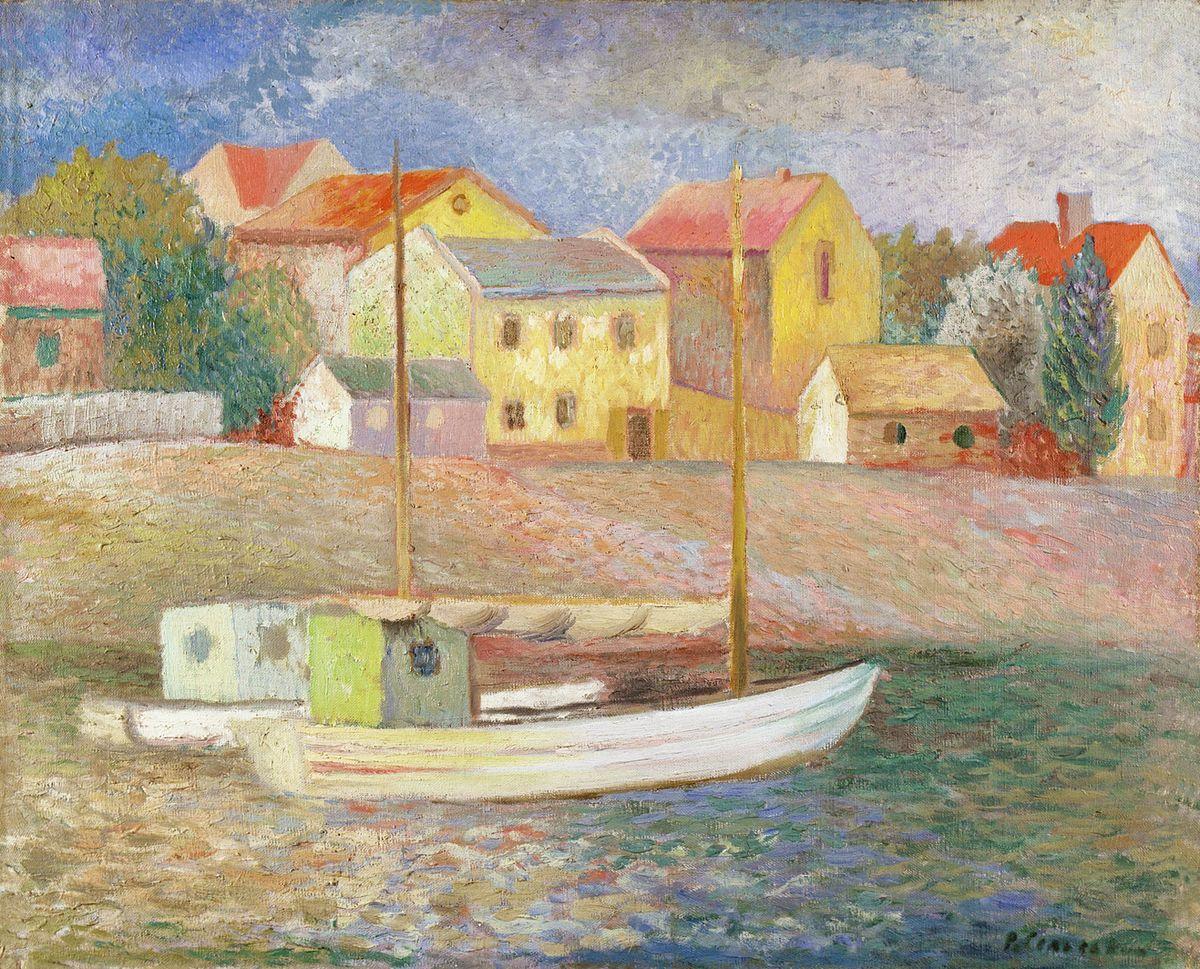 Роман Сельський. Пристань в Гелю, 1934