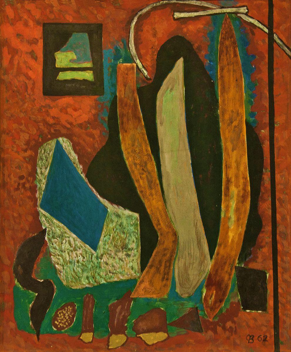Зеновій Флінта. Композиция, 1962