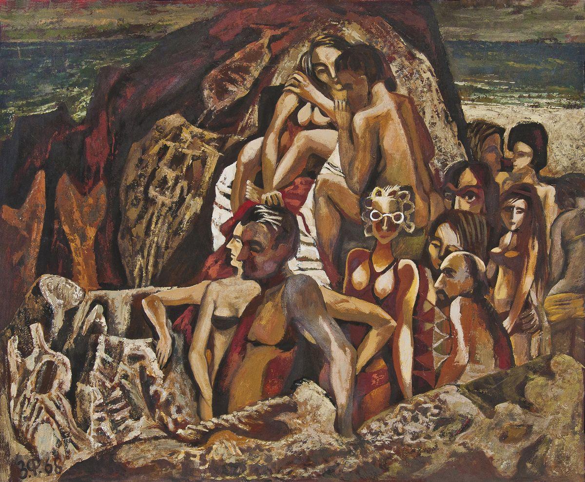 Зеновій Флінта. Відпочинок, 1968