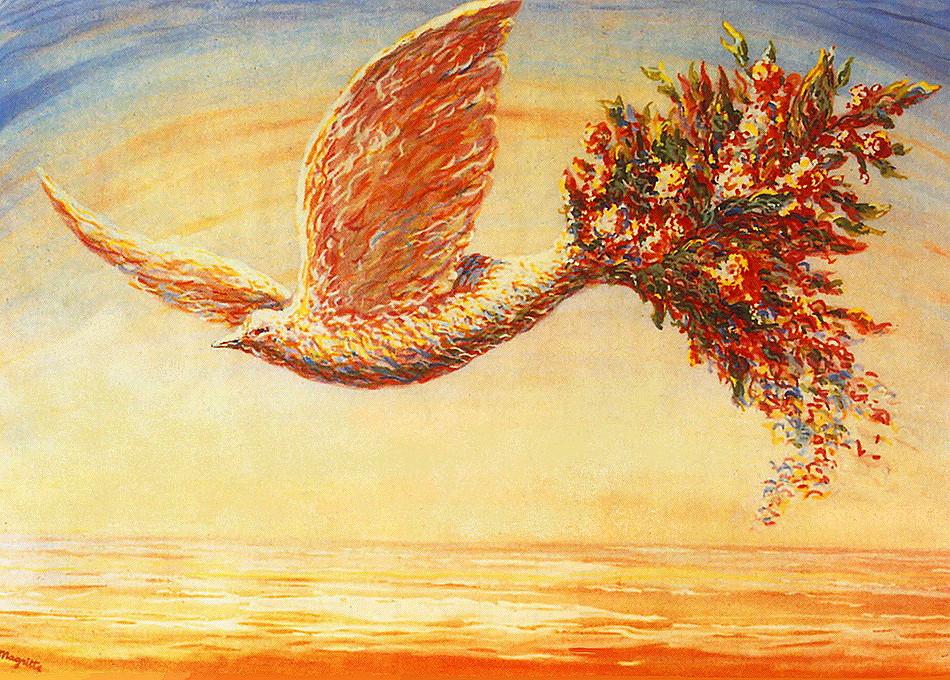 Сонячний голуб Магрітта