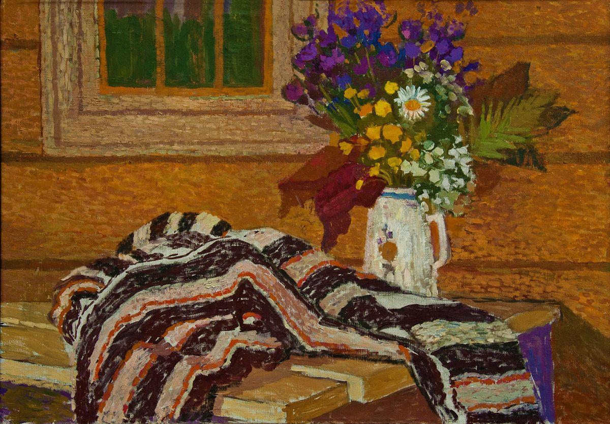 Вітольд Манастирський. Гірські квіти, 1957