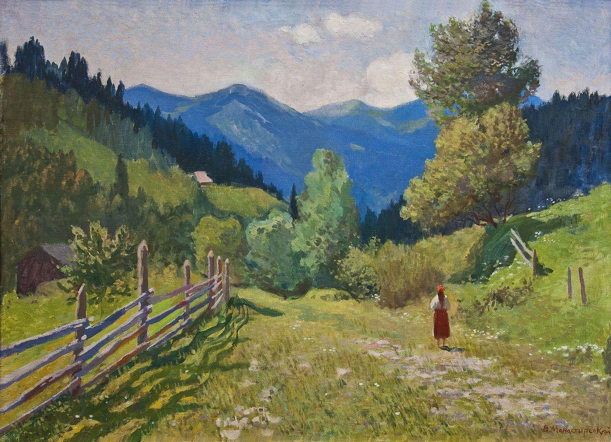 Вітольд Манастирський. Криворівня, 1955