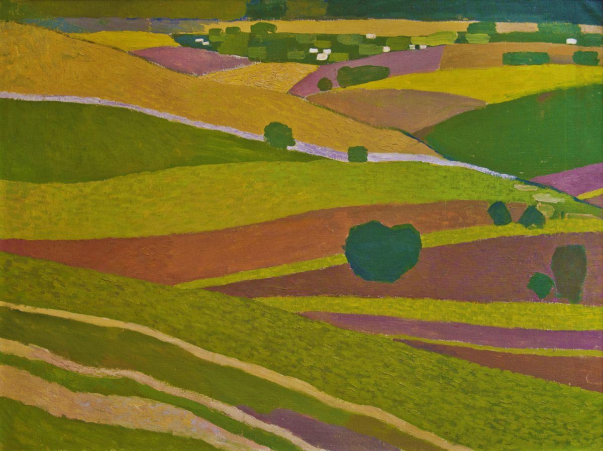 Вітольд Манастирський. Урожайні поля, 1965