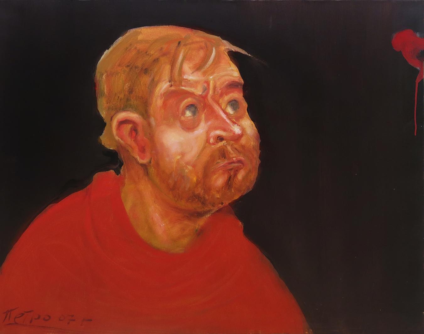 Петро Гуменюк. Андрій Сагайдаковський, 2007; полотно, олія