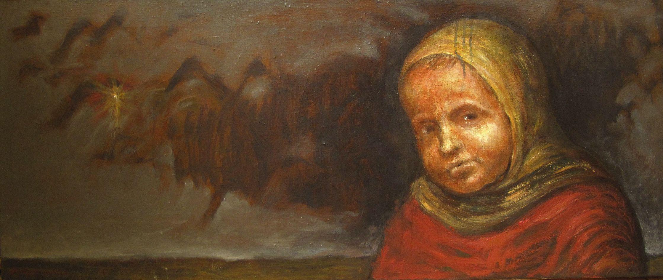 Петро Гуменюк. Без назви, 2011; полотно, олія