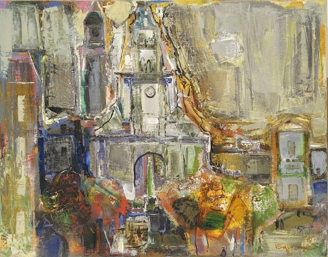 Борис Буряк. Львів. Церква Св. Андрія, 2007