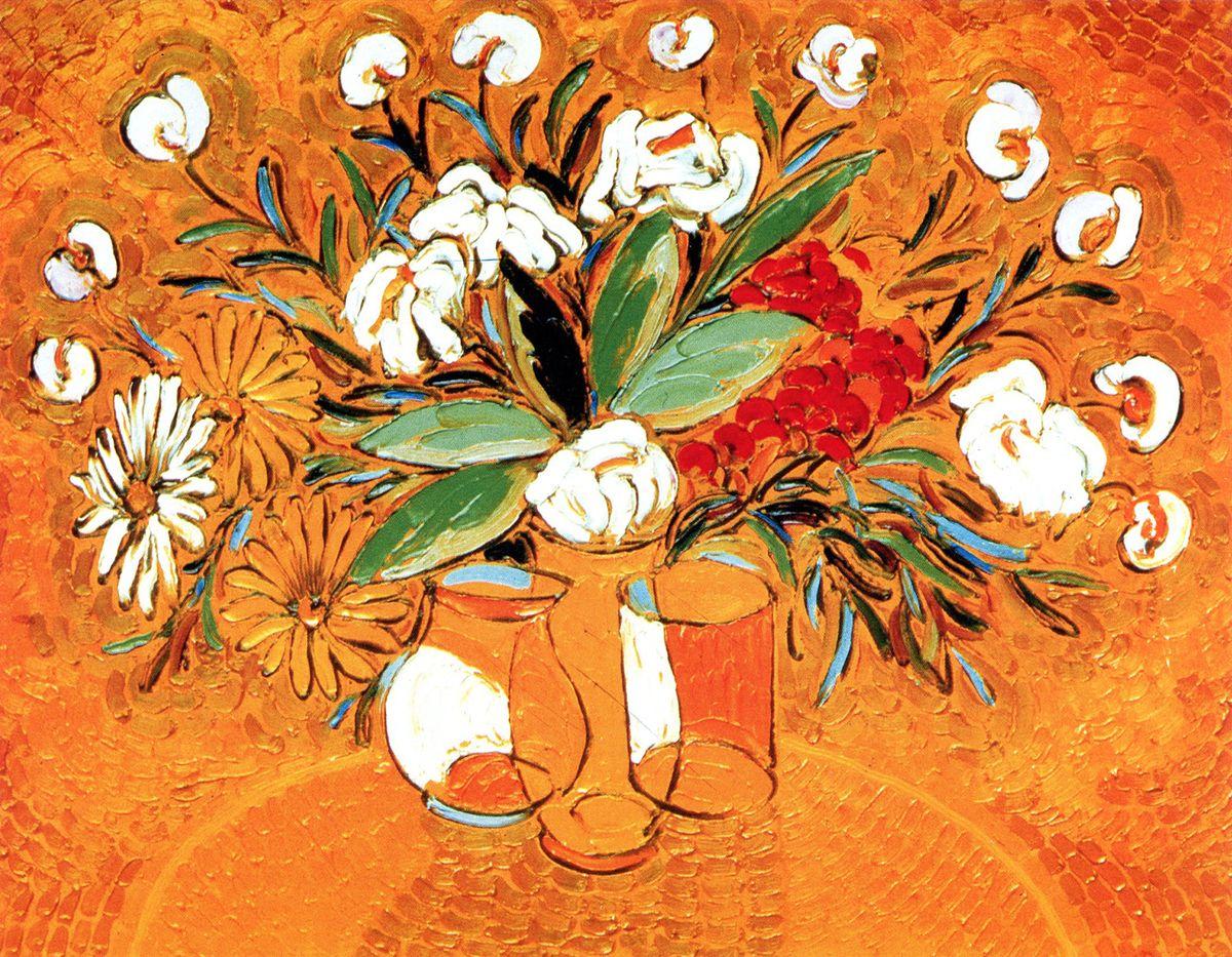 Михайло Демцю. Сонячний натюрморт, 2002