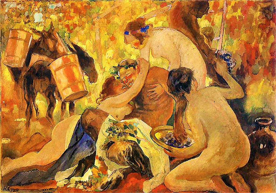 Казимир Сіхульський. Вакханалія, 1924