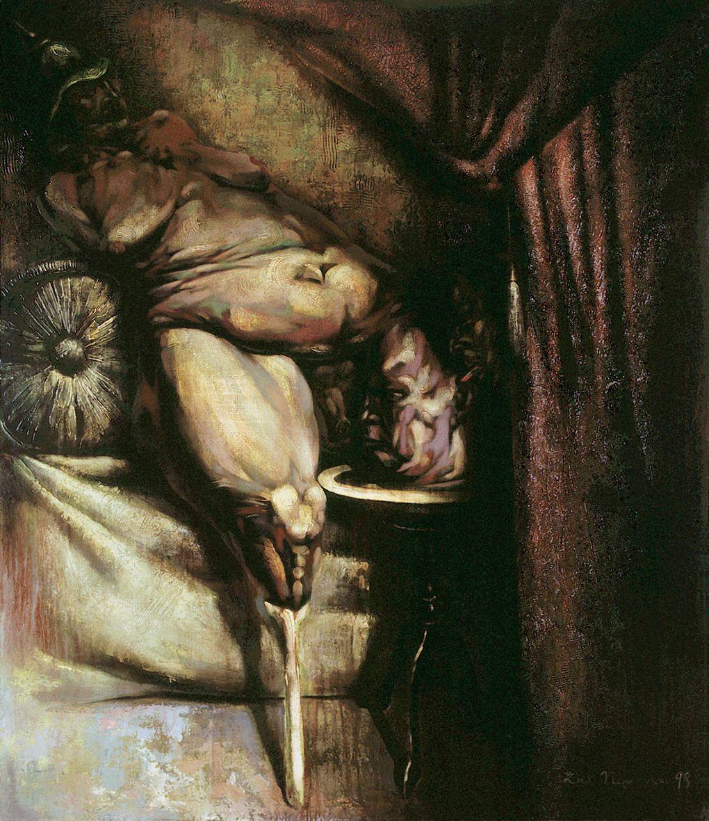Ігор Подольчак. Поцілунок Соломеї, 1998