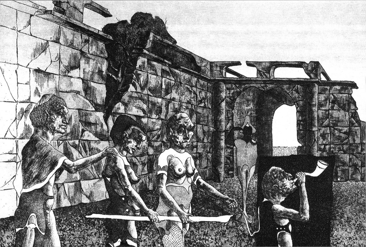 Ігор Подольчак. Процесія, 1986