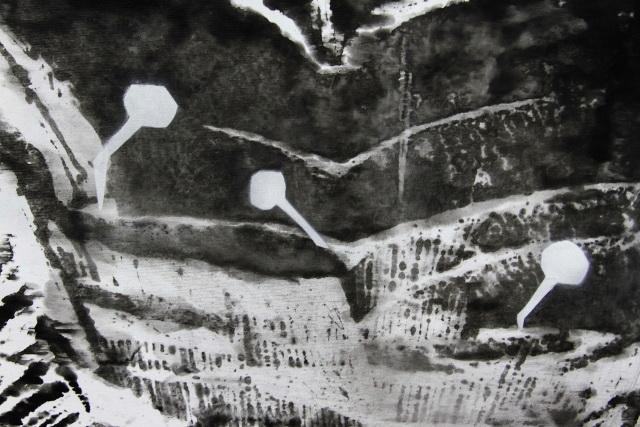 Із серії «По той бік», 2014, фрагмент