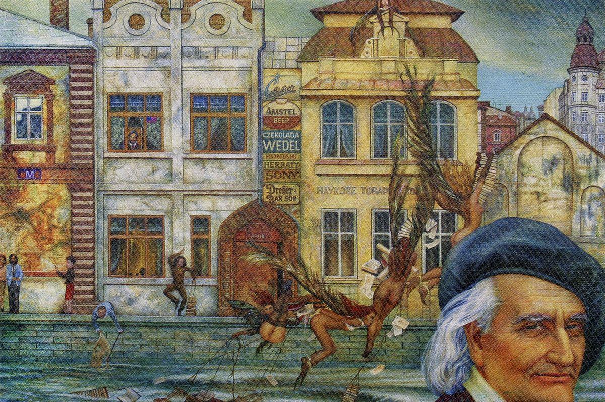Юрій Кох. Тут був інструктор (портрет Дашкевича), 2001