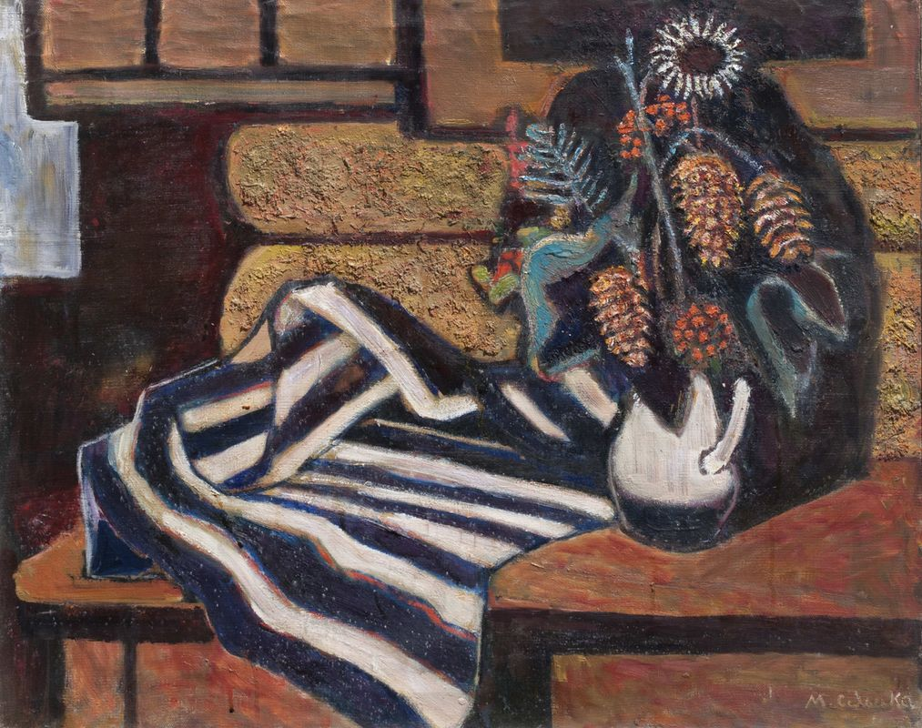 Марія Сельська. Натюрморт, 1967