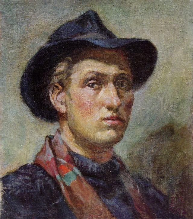 Володимир Патик. Автопортрет, 1952