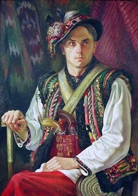 Василь Дядинюк. Гуцул, 1942