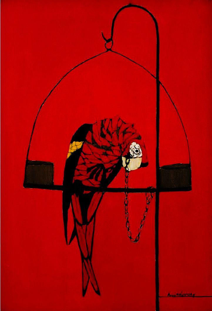 Яків Гніздовський. Папуга, 1956