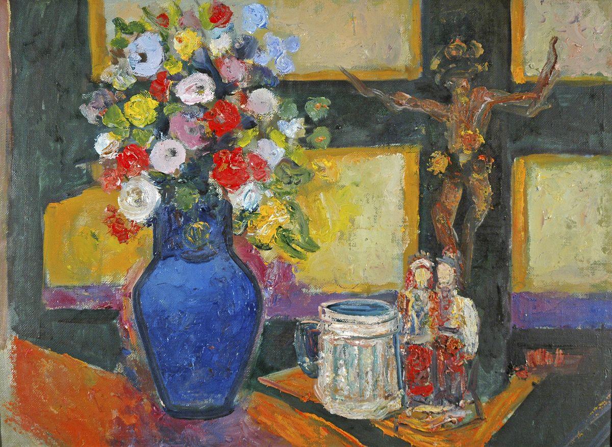 Данило Довбошинський. Карпатський натюрморт, 1980-ті