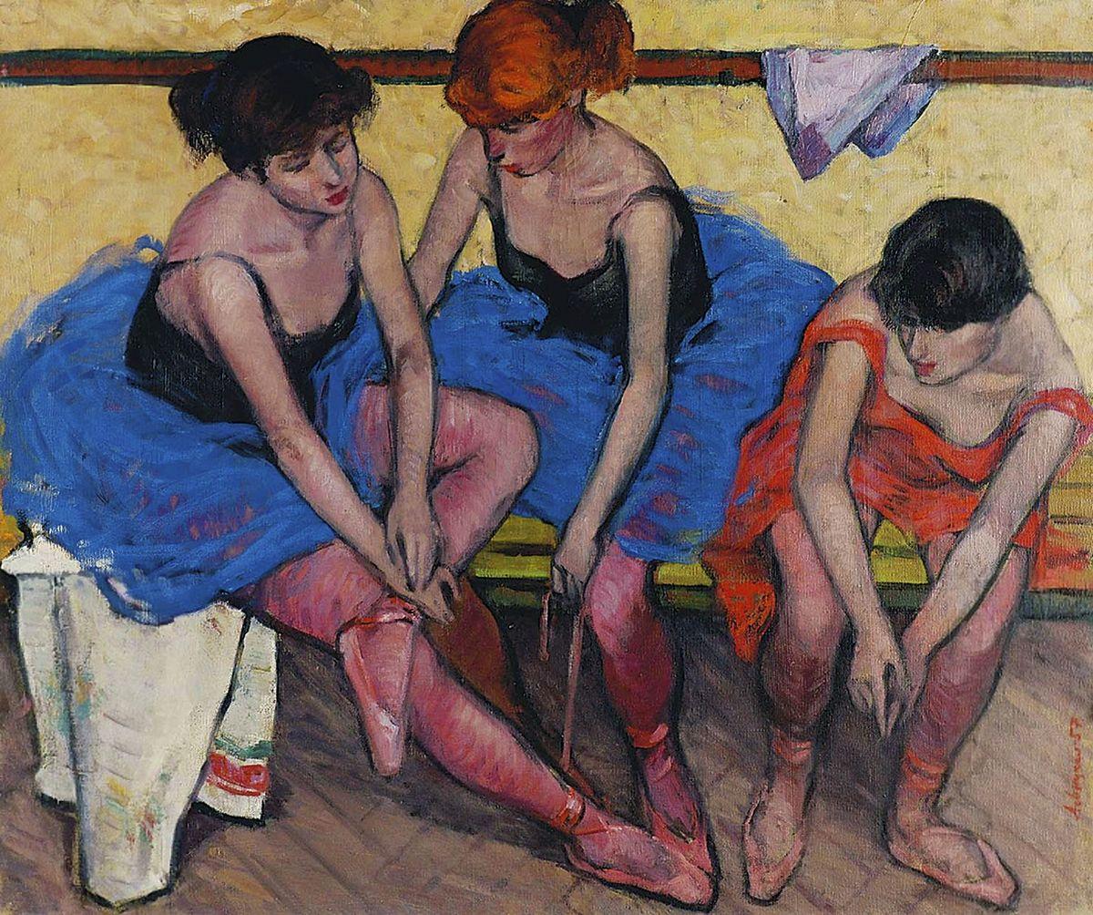 Генріетта Левицька. Балерини, 1957