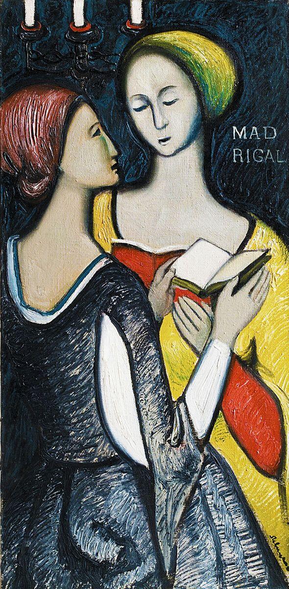 Генріетта Левицька. Мадрігал, 1963