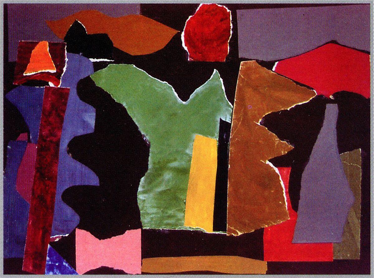 Карло Звіринський. Аплікація, 1958-62
