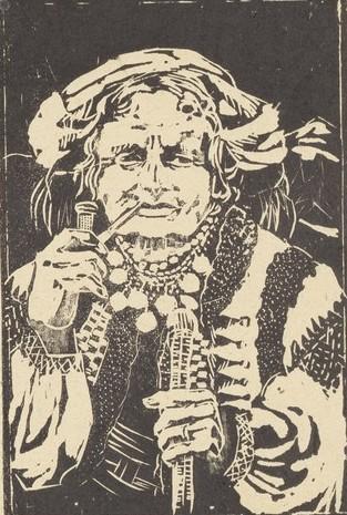 Юзефа Кратохвиля-Відимська. Гуцулка, 1930-ті