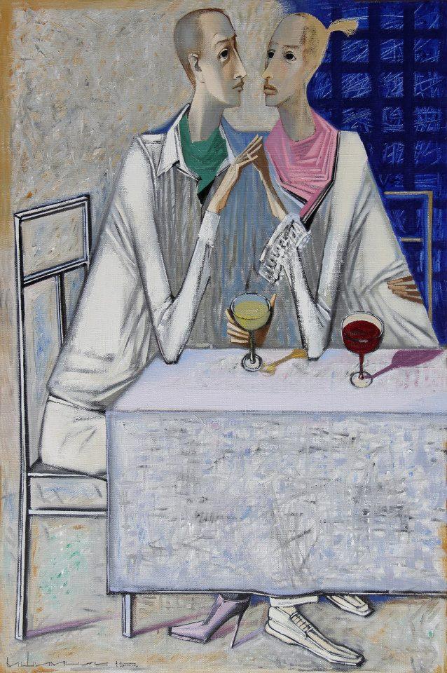 Микола Шимчук. Куантро, 2011. Полотно, олія, 120х100