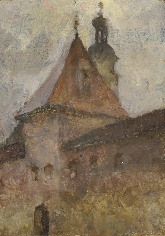 Веніамін Сіпер. Стара брама, 1956