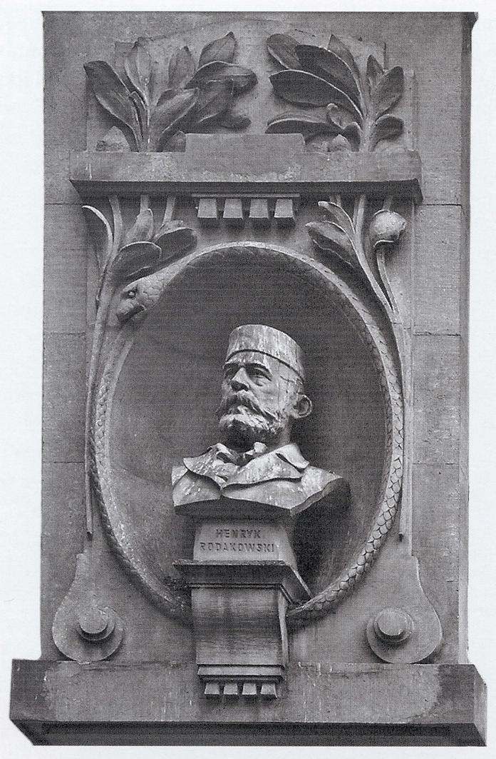 Антон Суліма-Попель. Генрик Родаковський, 1901; камінь; Краків