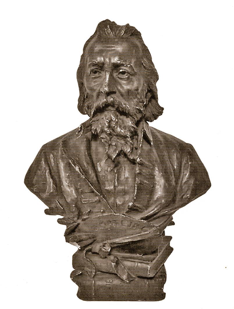 Антон Суліма-Попель. Ян Матейко, 1893; бронза; NMK