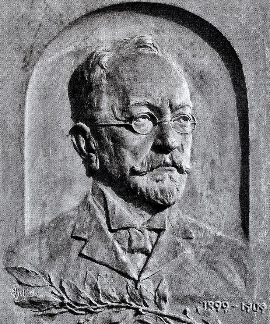 Антон Суліма-Попель. Самуель Горовіц, 1909; гіпс; ЛНГМ