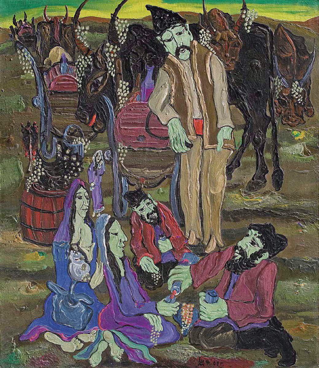 Міша Штейнберг. Збір врожаю, 1968