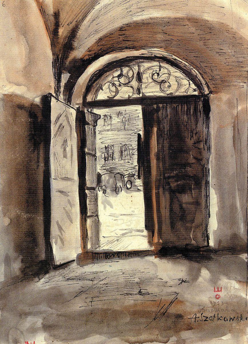 Олекса Шатківський. Брама, 1933