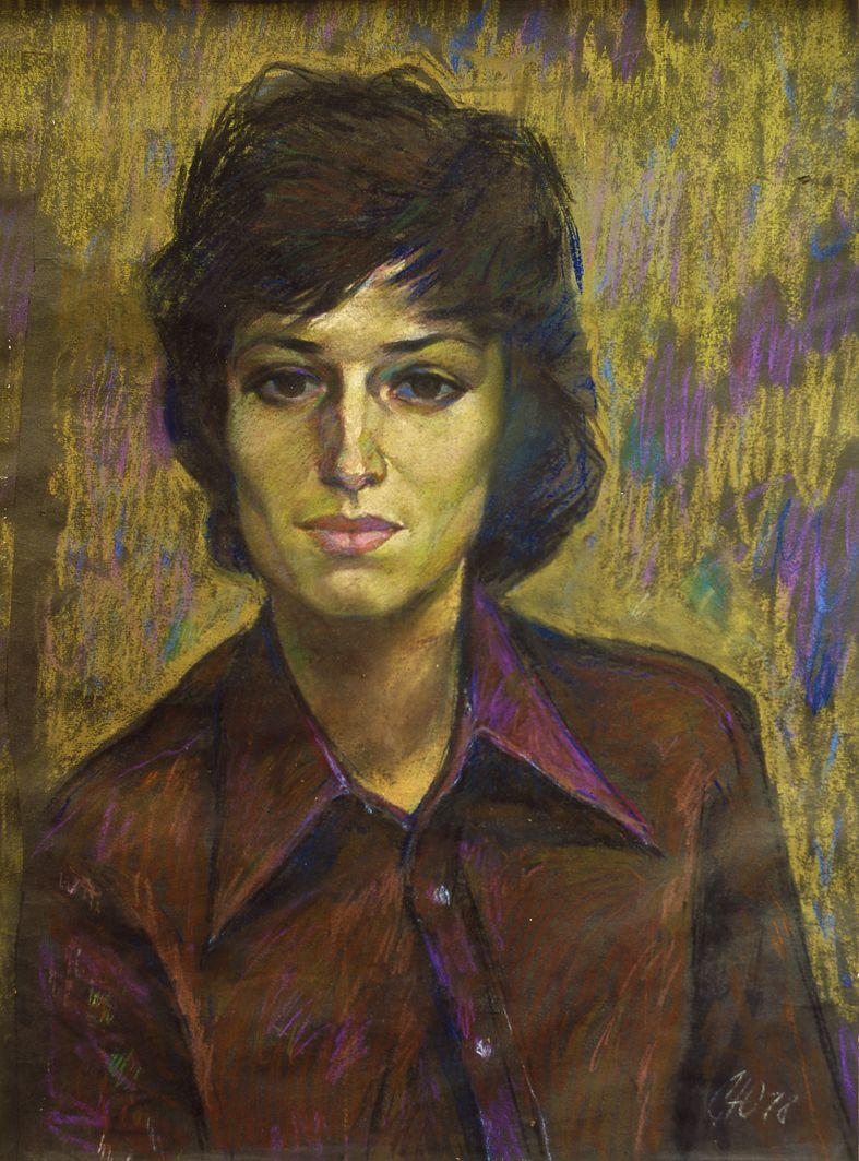 Юрій Скандаков. Жіночий портрет, 1978