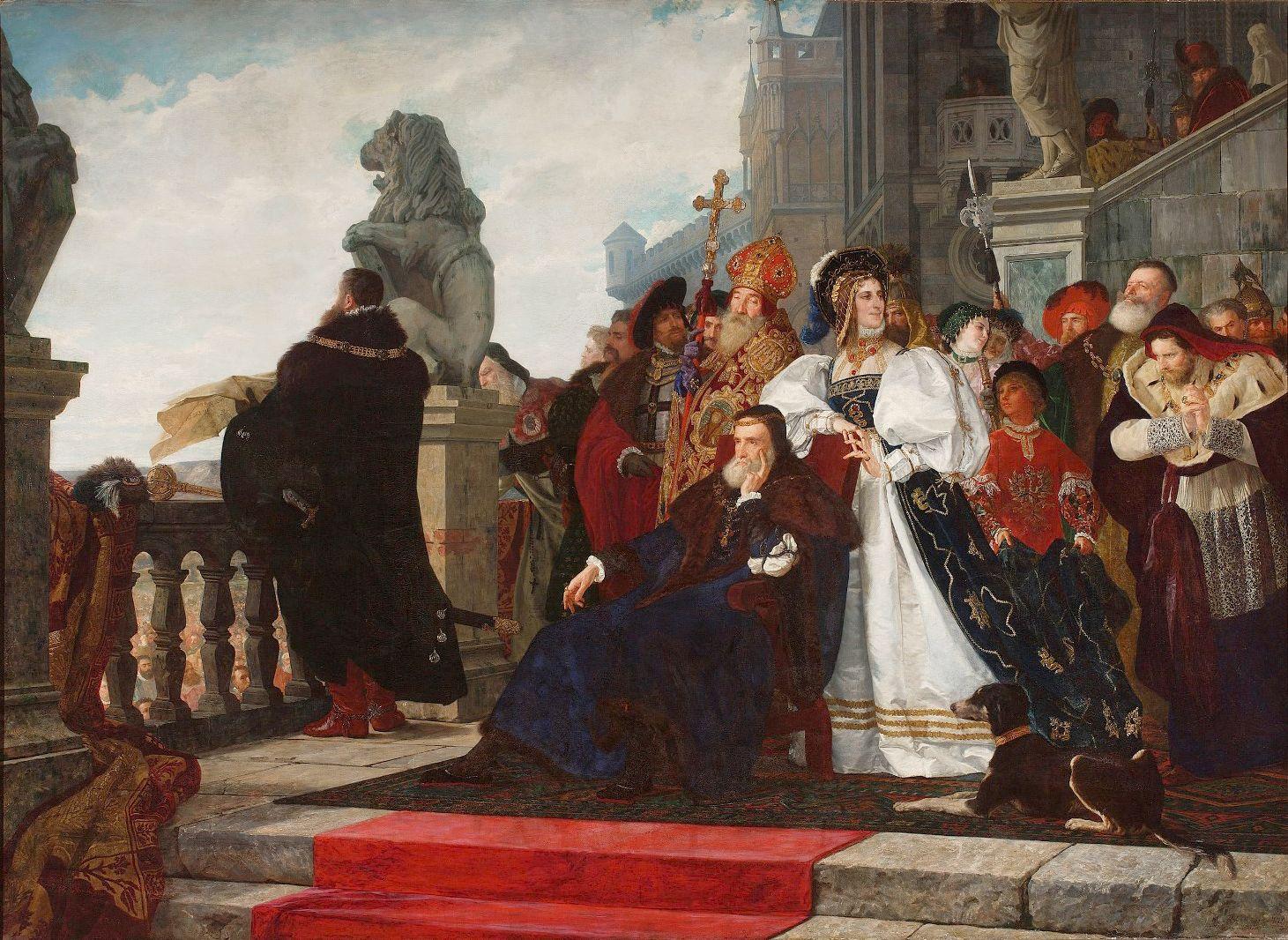 Генрік Родаковський. Король Сигизмунд, 1872