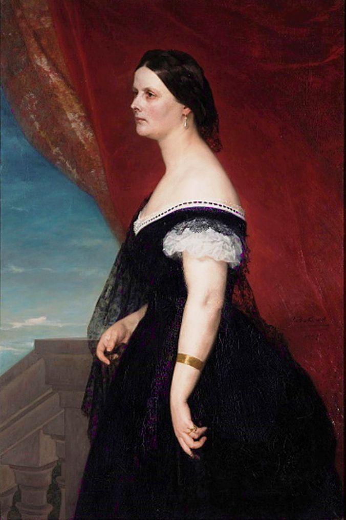 Генрік Родаковський. Портрет дружини, 1865